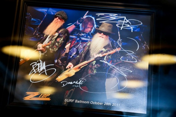 Photographing ZZ Top in concert