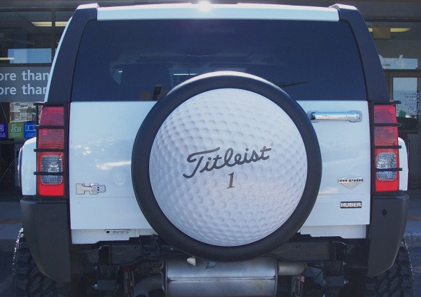 Tire cover graphics