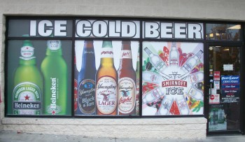 Window Sign by Standard Distributing