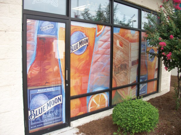 Window Graphics on Simple Perforated Window Vinyl by Standard Distributing