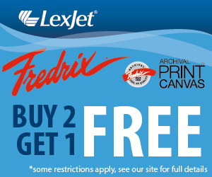 Buy Two Rolls of Fredrix Print Canvas at LexJet and Get One Roll Frree