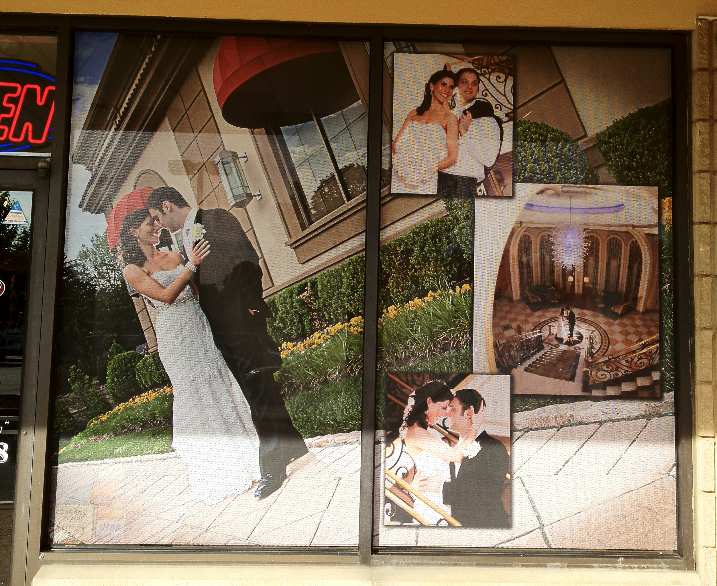 Window Shopping With Inkjet Printed Graphics At Unlimited
