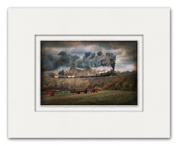 Photographing and Printing Vintage Railroads