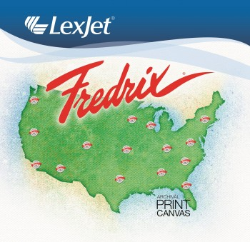 LexJet Exclusive Distributor of Fredrix Print Canvas