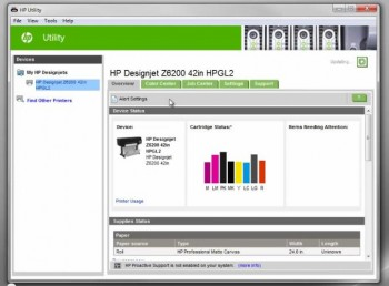 Custom Media Presets for HP Z Series Printers