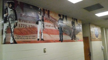 Wall Mural by Iowa Army National Guard