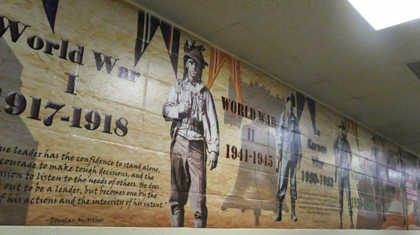 Wall Mural of Military History