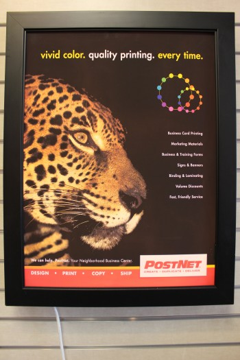 Backlit Prints by PostNet North Port