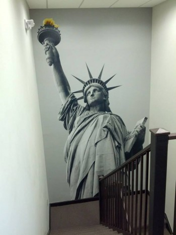 Inkjet Printed Custom Wall Mural