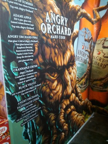 Wall Graphics for Angry Orchard
