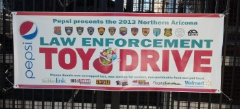 Toy Drive Banner