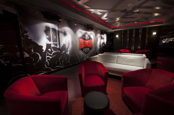 Casino Wall Mural by Illustrative Ink