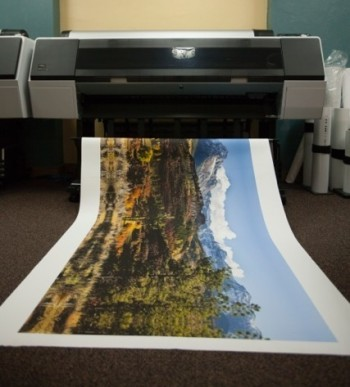 Printing at The Canyon Gallery