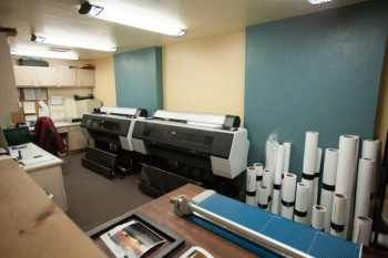 The Canyon Gallery Print Room