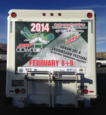 Inkjet Printed Truck Backs
