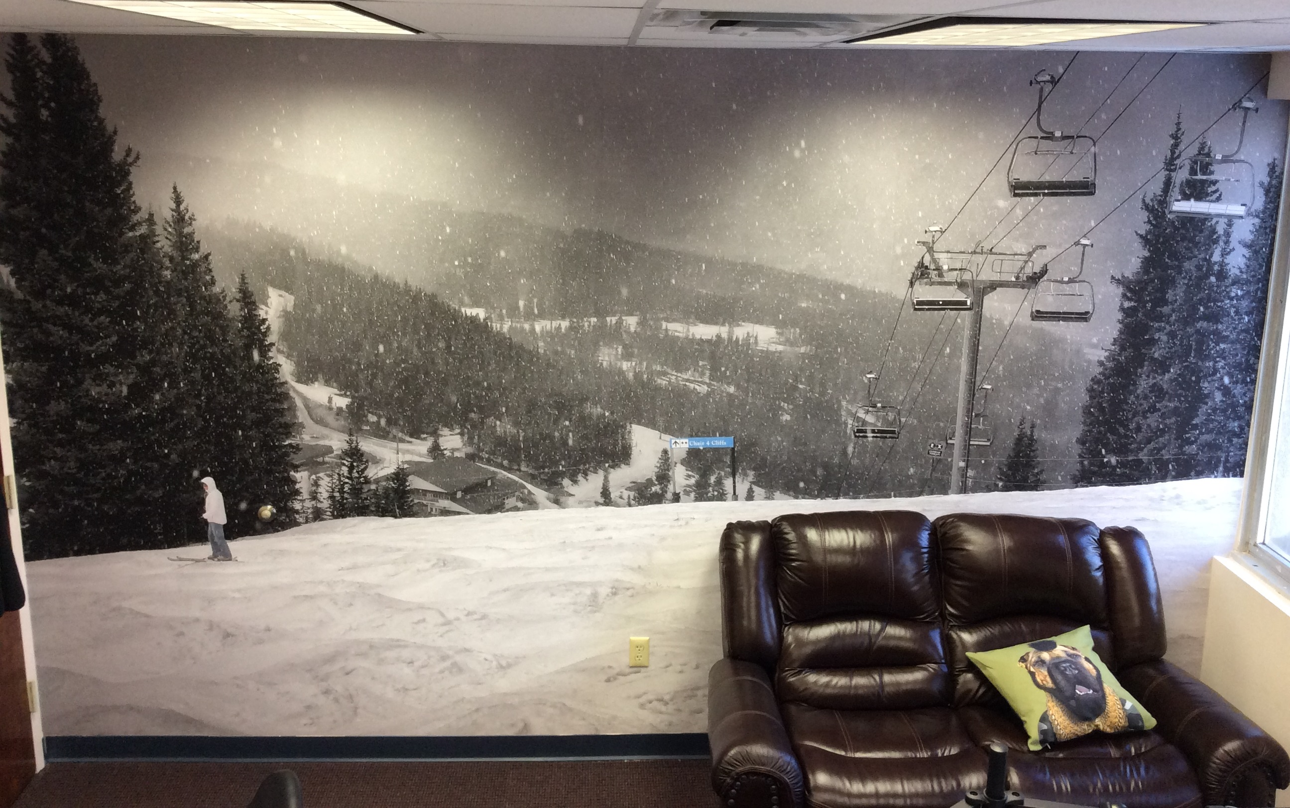 Vail mountain wall mural lexjet blog double black diamond wall mural on print n stick fabric amipublicfo Gallery
