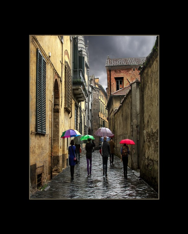 Rainy Day in Tuscany by Christine Cook