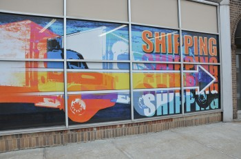Union City High School Window Graphics