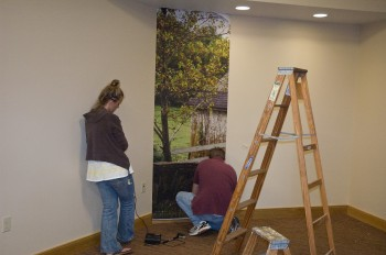 Installing Wall Graphics