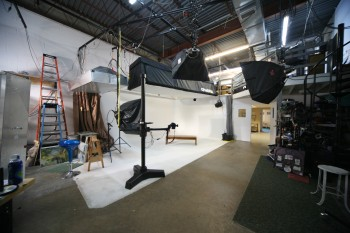 Image Tec's drive in photography studio.