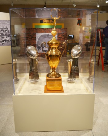 Green Bay Packer Trophy Case Triad Creative Group