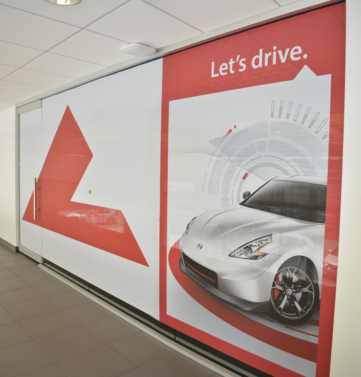 Lexjet perforated vinyl