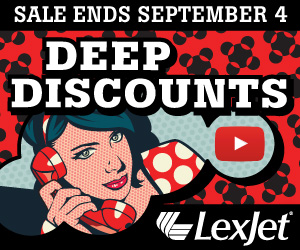 Deep Discounts at LexJet
