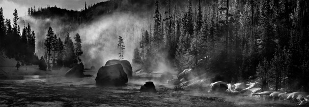 Firehole River by Jeff Dachowski