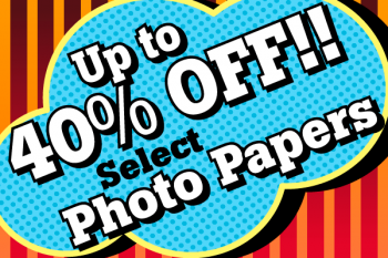 First of The Five Photo Paper Discounts