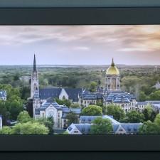 Notre Dame Print by Sharpeye Framing