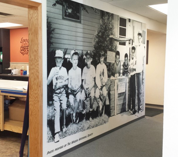 Wall Mural by Clear Lake Press