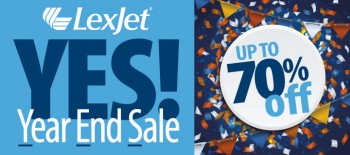 Year End Sale at LexJet