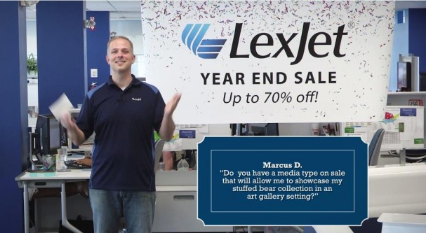 LexJet Year End Sale