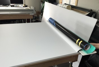 Big Squeegee Vinyl Application