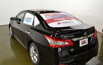 Mobile Advertising with LexJet Perforated Window Vinyl