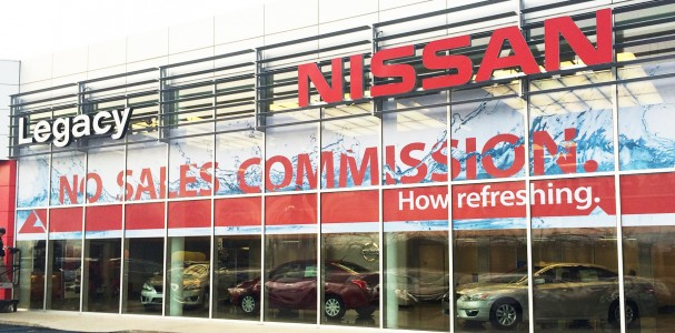 Window Graphics Legacy Nissan