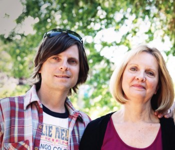 Mother and son design team, Eric and Anita Hopper
