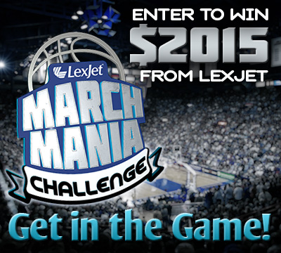LexJet March Mania Challenge: Get in the Game