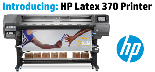 This week HP announced its newest printer in the Latex 300 Series, the HP Latex 370 Printer. Available through LexJet for shipping beginning July 1, 2015, the Latex 370 boasts 3-liter ink cartridges and unattended printing, offering a lower cost of operation.