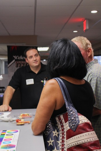 Michael Clementi, who heads up LexJet's Experience Center, dives into conversation.