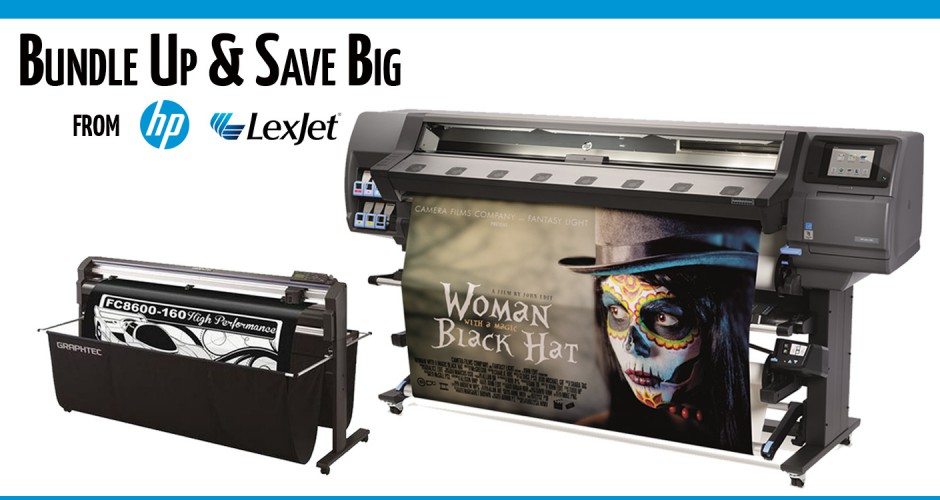Save When You Buy an HP Latex 330 & Graphtec Cutting Plotter