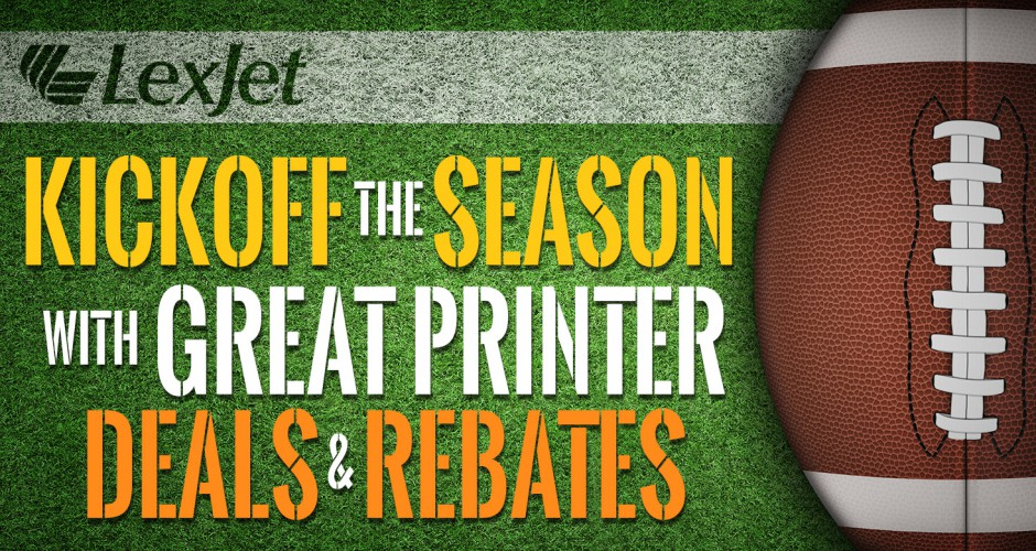 Score Big with September Printer Rebates & Deals