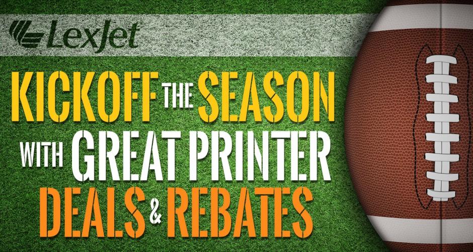 Score Big with September Printer Rebates & Deals