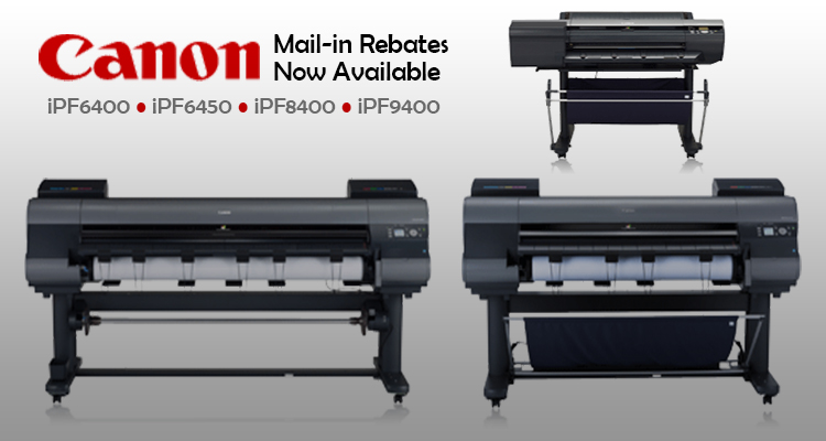 New Canon Printer Mail-in Rebates Now Available