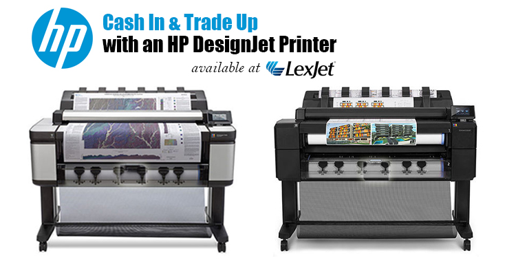 Get Up to $3,000 Cash Back on an HP DesignJet Printer