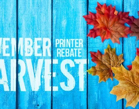 Save a Bundle with November Printer Rebate Deals