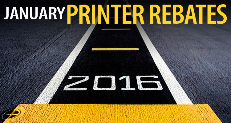 Ready, Set … Start the Year Off with Big Printer Savings