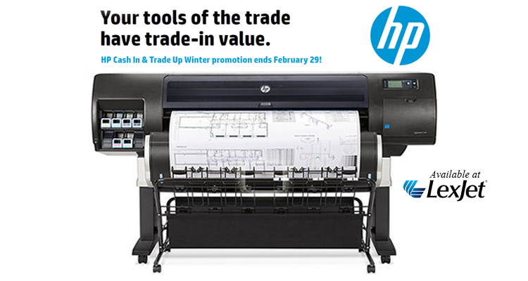 Cash In & Trade Up to a New HP DesignJet Printer