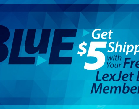Welcome to LexJet Blue $5 Shipping