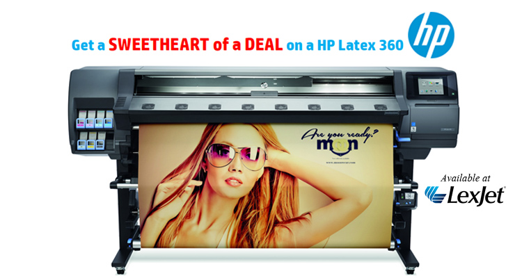 Sweet! Extra Savings on HP Latex 360 Printers